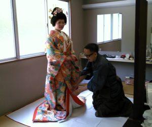 伊奈波神社の神前結婚式