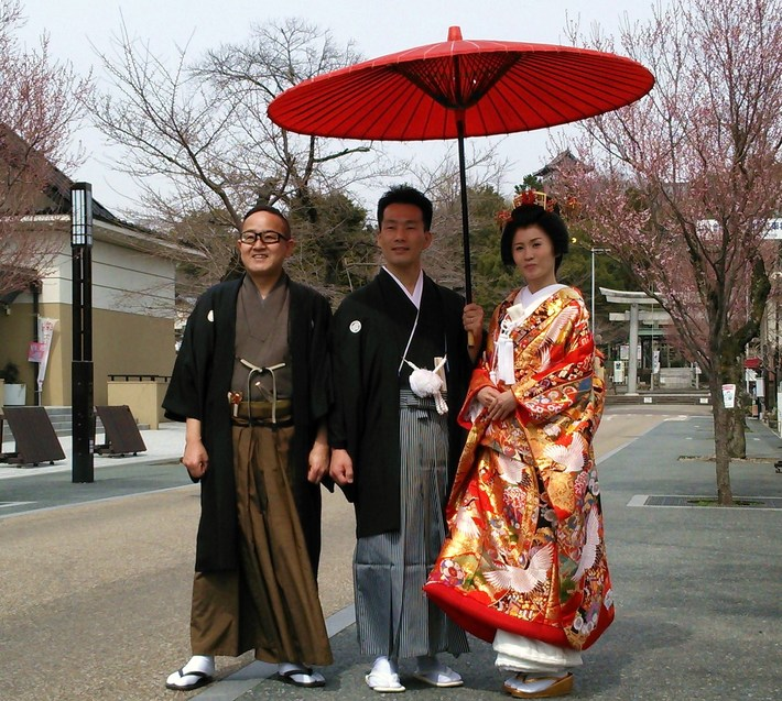 犬山成田山で結婚式