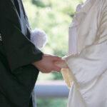 自宅で花嫁